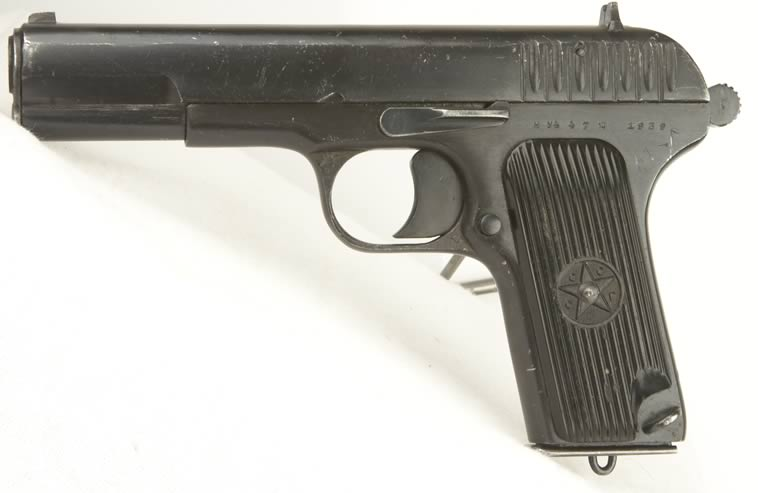 Russian Hand Guns http://www.deactivated-guns.co.uk/detail/Tokarev_T33_.htm