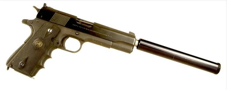 deactivated_colt_1911 M1911 Suppressed