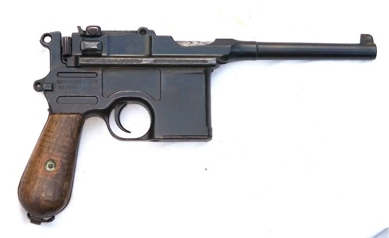 最近ccav那个《枪》纪录片为害不小,就驳壳枪部分予以
