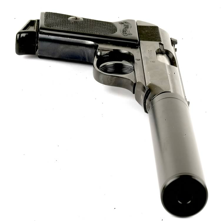Silenced Walther PPK
