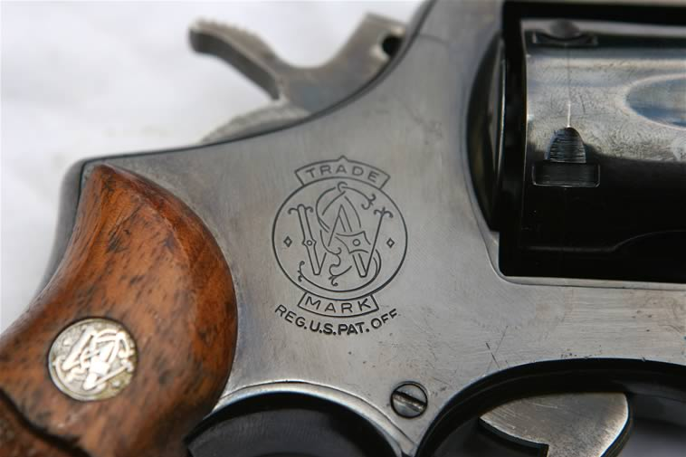 Deactivated Smith and Wesson .38 special C.T.G