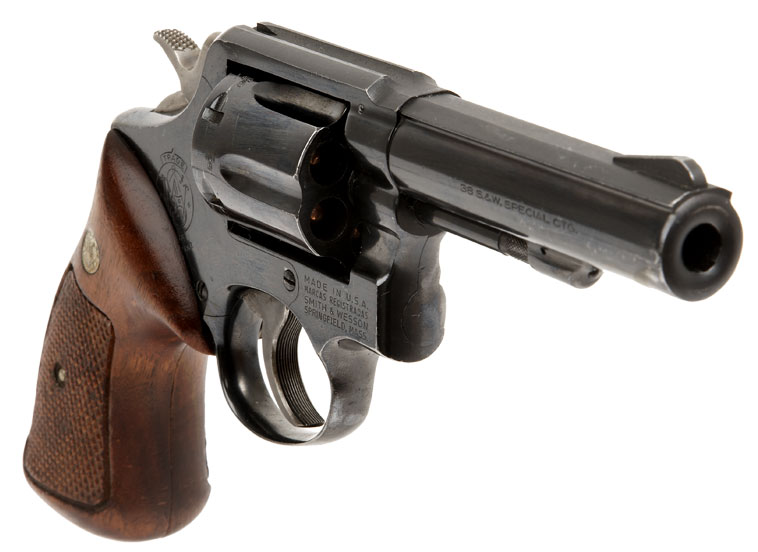 Deactivated smith and wesson 38 special c t g