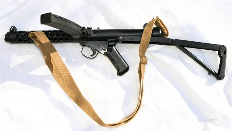 sterling sub machine gun