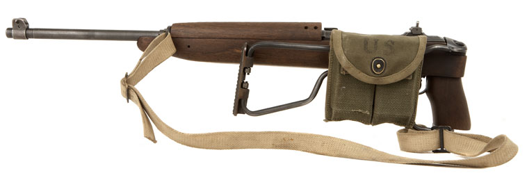 Deactivated Wwii Usa M1 Carbine Folding Stock