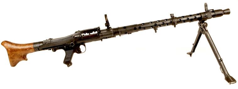Machine Gun, German, MG 34