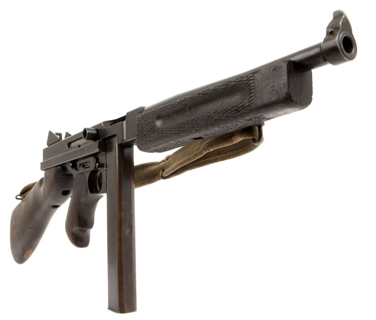 new thompson machine gun