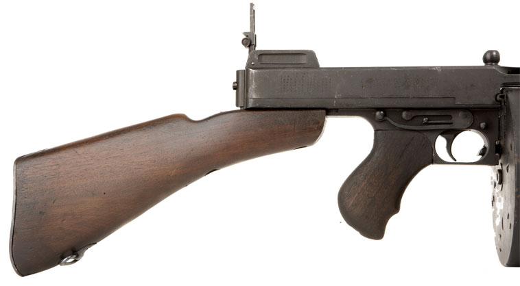 Thompson 1928 Cutts compensator, Lyman adjustable sights