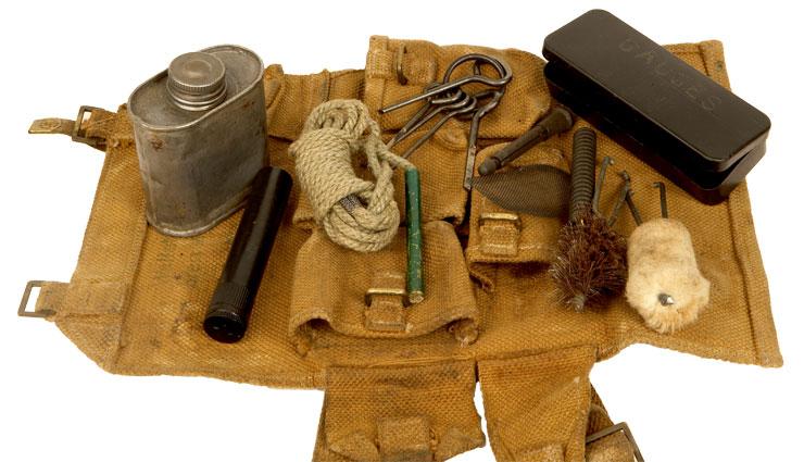 Wwii Bren Gunners Tool Kit Militaria