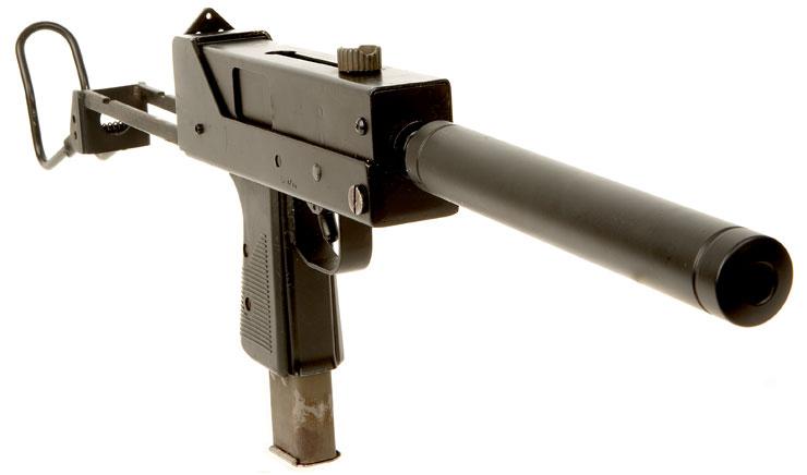 dummy machine guns