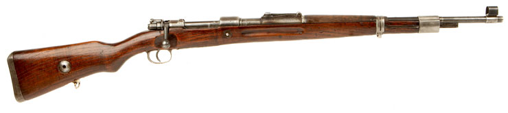 Deactivated WWII German K98 Rifle BYF 1943