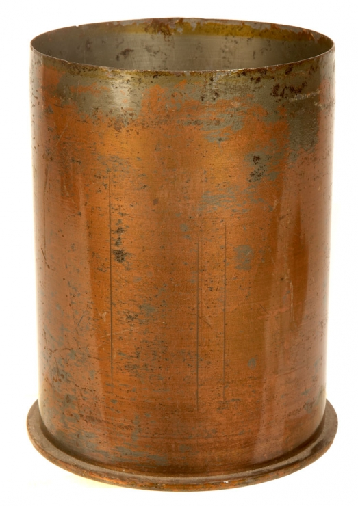 WWII German 10.5cm L.F.H. 18 Field Howitzer Brass Shell