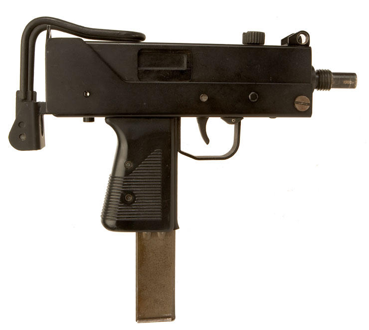Rare Deactivated Old Spec Ingram MAC-10 Machine Gun fitted ...