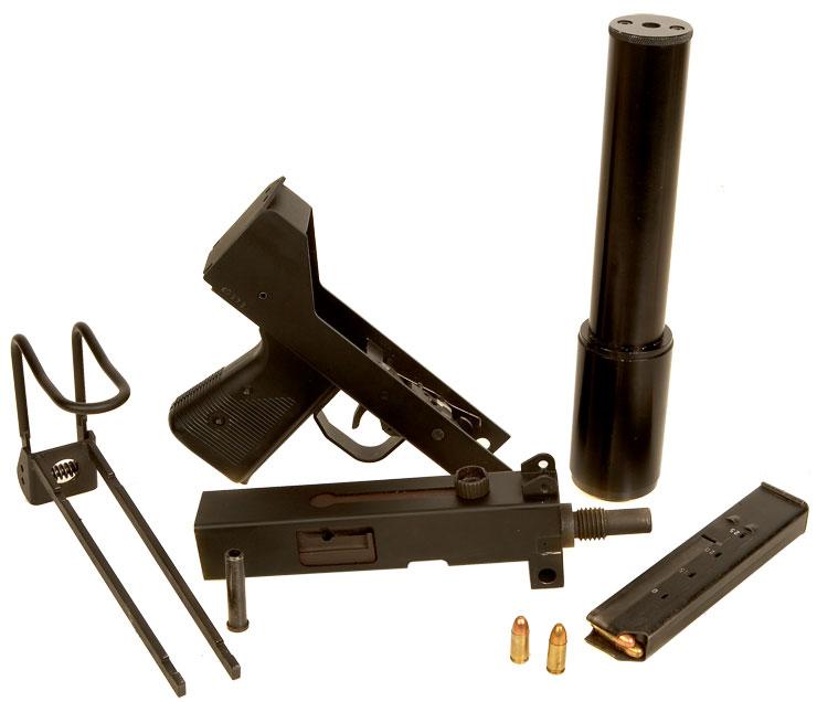Deactivated Ingram MAC-10 Machine Gun - Modern Deactivated ...