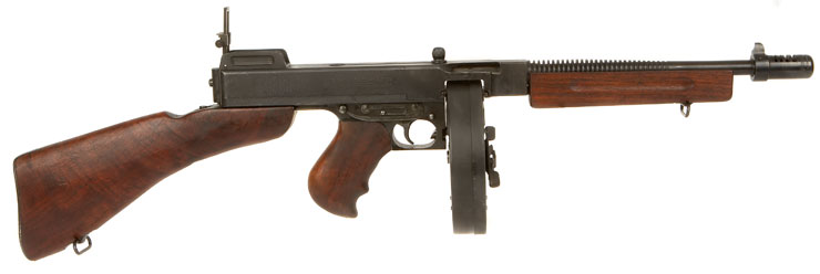 Deactivated WWII Thompson 1928 A1 Submachine Gun