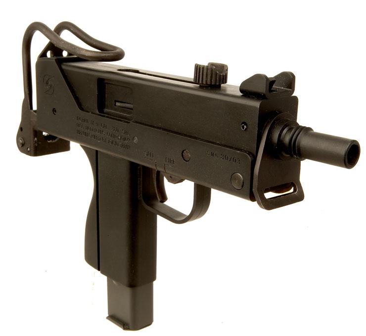 MGC Ingram MAC-11 Suppressed Plug Firer - Live Firearms ...