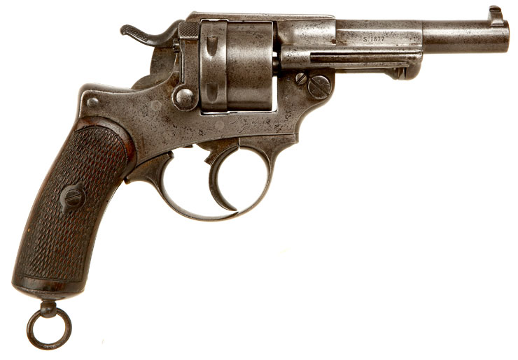 WWI & WWII French MAS 1873 Revolver Obsolete Calibre