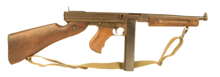 Deactivated WWII US Thompson M1A1