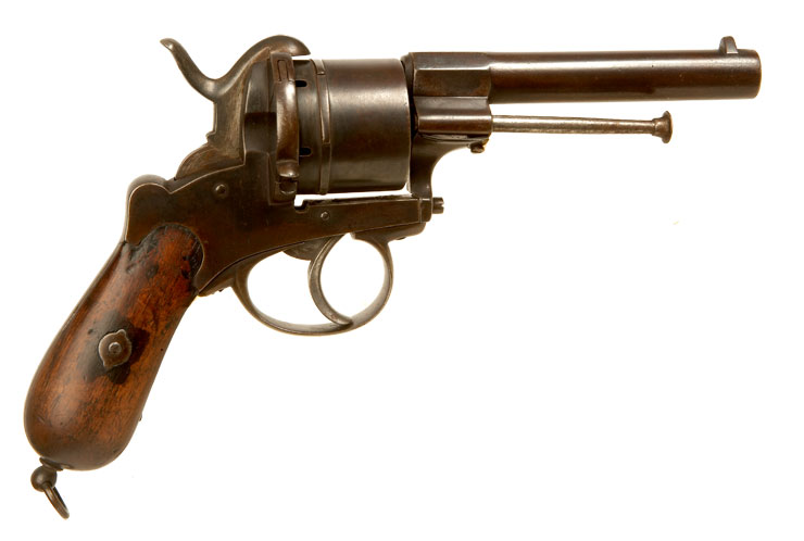 Faust Pistole Pinfire Revolver