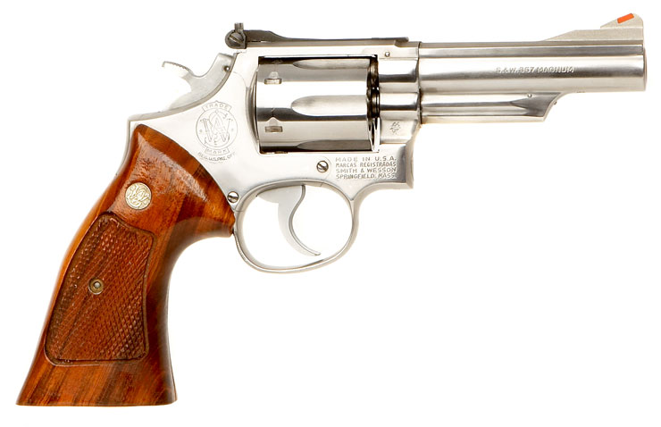 Test: Revolver SMITH & WESSON M19 Combat -