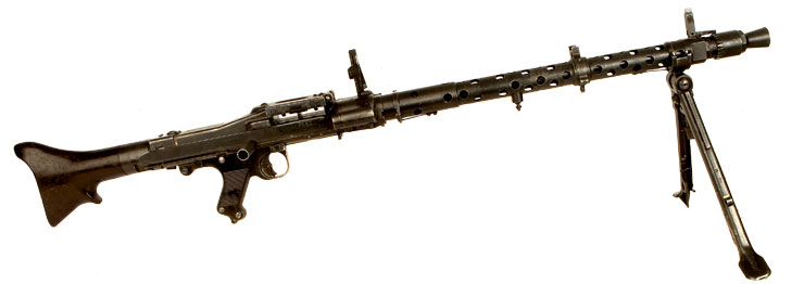 Deactivated WWII German MG34