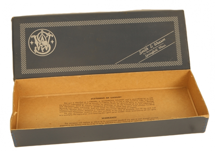 Smith & Wesson Model 17, K22 Masterpiece series revolver box