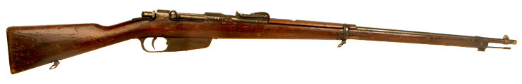 Deactivated WW1 Italian Carcano M1891 Rifle