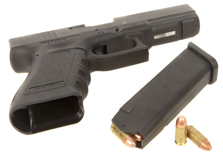 Deactivated Glock 17 9mm Pistol Latest Model - Modern ...