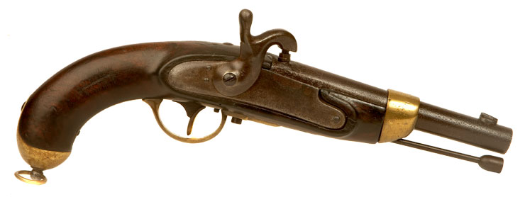 Model 1816 French Cavalry percussion pistol.