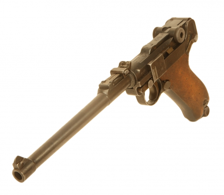 Just Arrived, Deactivated WWI Artillery Luger