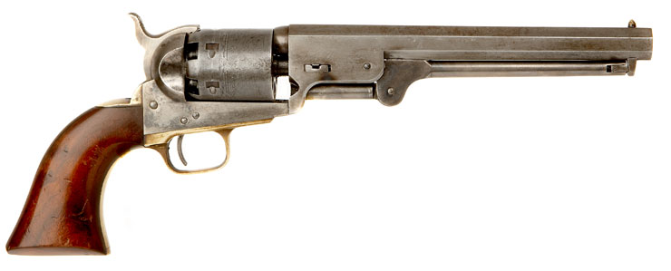 Deactivated Colt 1851 Navy Percussion Revolver