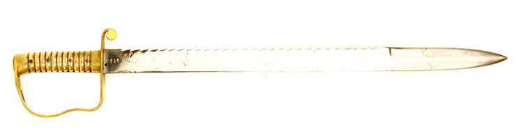 2nd Gloucester Regiment, 1856 Pattern British pioneers sword with saw edge
