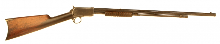 Deactivated Winchester Model 1890 Pump Action Take Down Rifle
