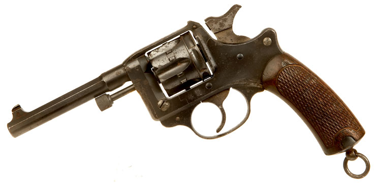 Deactivated Early production, French Model 1892 Revolver