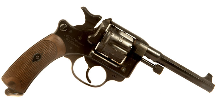 Deactivated WWI French M1892 Revolver