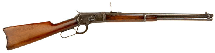 WWI Winchester Model 1892 Under Lever Saddle Ring Carbine