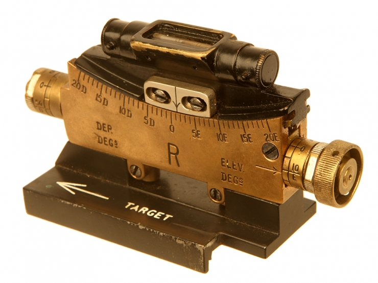 First World War Vickers Machine Gun Clinometer MKI