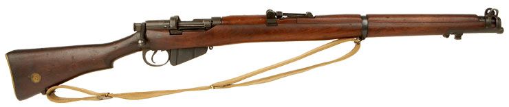 WWI Lithgow SMLE MKIII* .303 Rifle Dated 1918