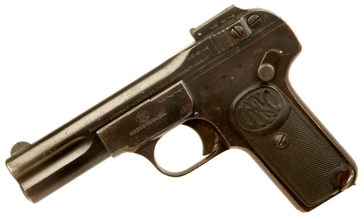 Deactivated Browning Model 1900 Pistol