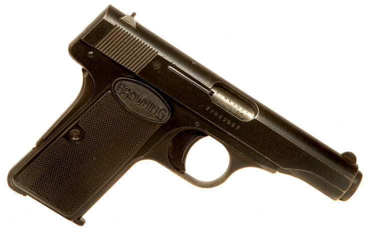 Deactivated Browning Model 1910 - USA Export Variant