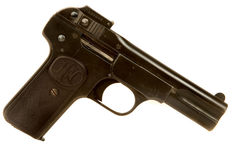 Deactivated Pre WWI Production Browning Model 1900 Pistol