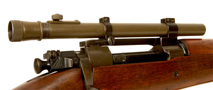 Deactivated Very Rare WWII US Remington made Springfield