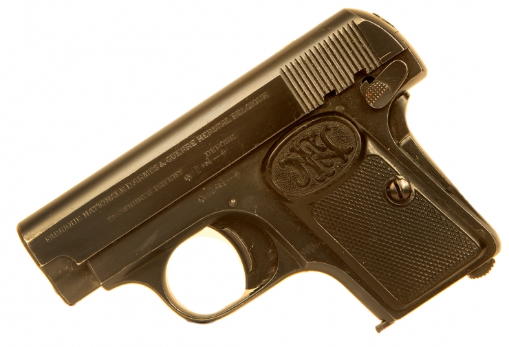 Deactivated WWI Era Browning FN M1906 Pocket Pistol