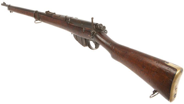 Deactivated 1906 Enfield Long Lee Rifle Allied