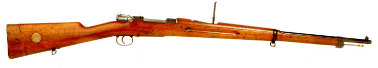 1906 Dated Swedish Mauser M/96 Bolt Action Smoothbore Rifle