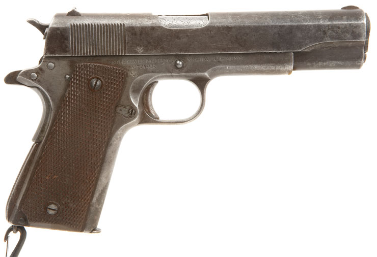 Deactivated rare wwii colt 1911a1 old specification allied