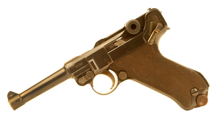 Just Arrived, All Matching Numbers Deactivated WWI PO8 Luger
