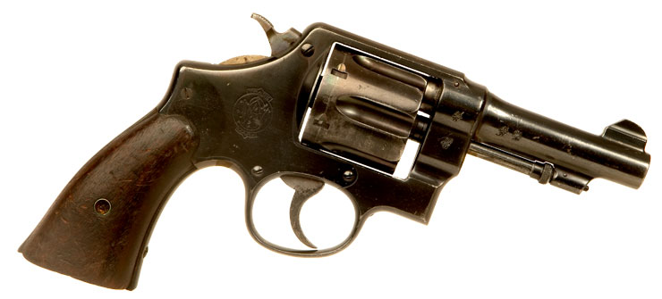 Just Arrived, Deactivated WWI British Issued Smith & Wesson M1917 Revolver