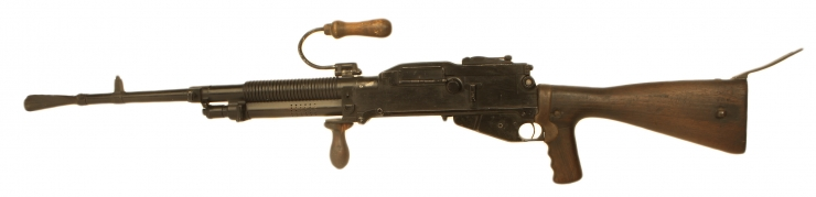 Just Arrived, Deactivated WWII era Hotchkiss Model 1922-1926 Machine Gun
