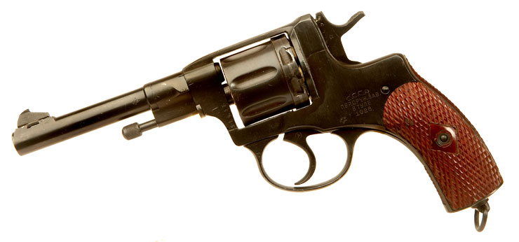 Just Arrived, Deactivated WWII Era Russian Officers M1895 Revolver