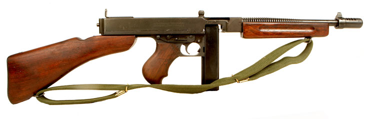 A1 Auto Sales >> Deactivated WWII US Thompson 1928A1 Submachine gun - Allied Deactivated Guns - Deactivated Guns
